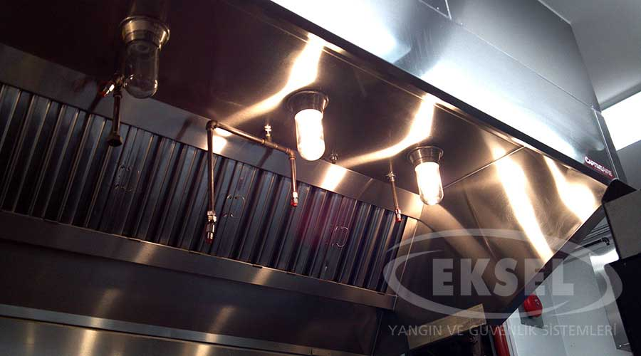 Hood Extinguishing Systems - Kitchen hood light fixtures